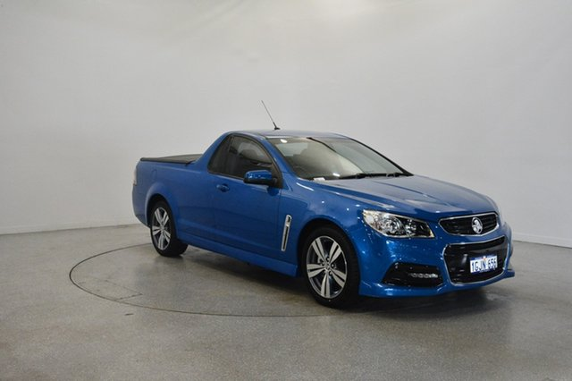 Used Holden Ute VF MY14 SV6 Ute, 2013 Holden Ute VF MY14 SV6 Ute Blue 6 Speed Sports Automatic Utility