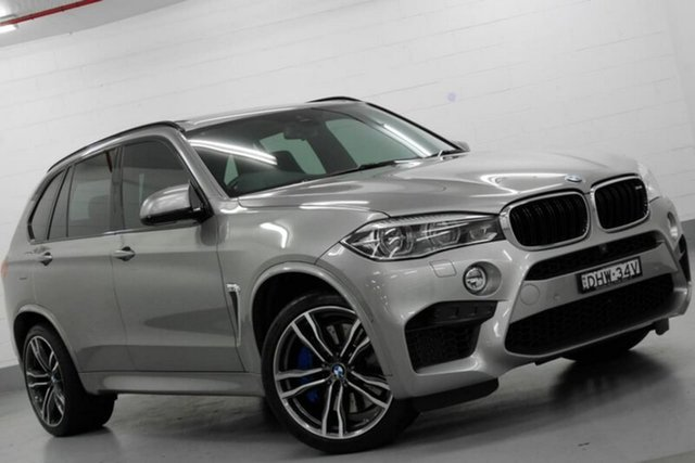 Used BMW X5 F85 M Steptronic, 2016 BMW X5 F85 M Steptronic Grey 8 Speed Sports Automatic Wagon