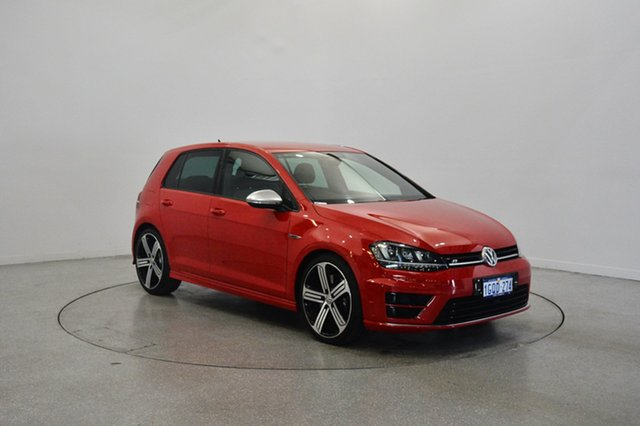 Used Volkswagen Golf VII MY15 R DSG 4MOTION, 2015 Volkswagen Golf VII MY15 R DSG 4MOTION Tornado Red 6 Speed Sports Automatic Dual Clutch