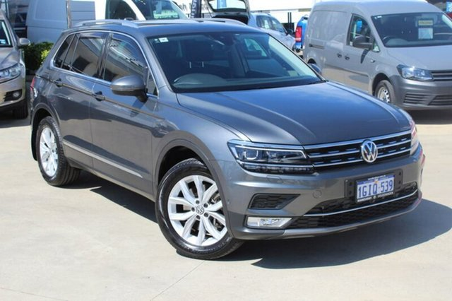 Used Volkswagen Tiguan 5N MY17 140TDI DSG 4MOTION Highline, 2017 Volkswagen Tiguan 5N MY17 140TDI DSG 4MOTION Highline Indium Grey 7 Speed