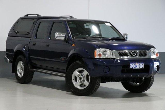 Used Nissan Navara D22 Series 5 ST-R (4x4), 2014 Nissan Navara D22 Series 5 ST-R (4x4) Blue 5 Speed Manual Dual Cab Pick-up
