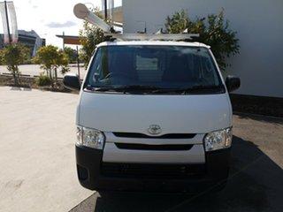2014 Toyota HiAce KDH201R MY14 LWB White 5 Speed Manual Van
