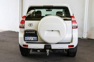 2016 Toyota Landcruiser Prado GDJ150R GX Glacier White 6 Speed Sports Automatic Wagon