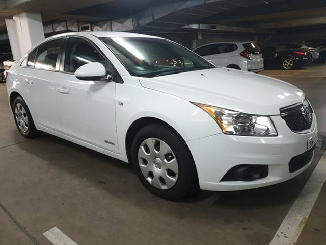 Used Holden Cruze  CD, 2011 Holden Cruze JH Series II MY CD White 6 Speed Sports Automatic Sedan