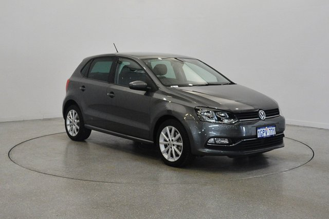 Used Volkswagen Polo 6R MY17.5 81TSI DSG Urban+, 2017 Volkswagen Polo 6R MY17.5 81TSI DSG Urban+ Pepper Grey 7 Speed Sports Automatic Dual Clutch