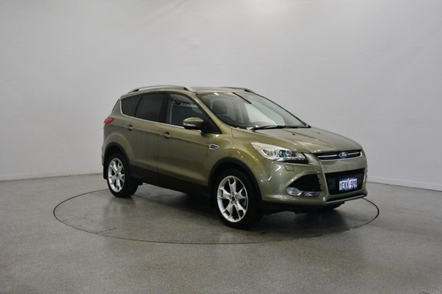 Used Ford Kuga TF Titanium PwrShift AWD, 2013 Ford Kuga TF Titanium PwrShift AWD Ginger Ale 6 Speed Sports Automatic Dual Clutch Wagon
