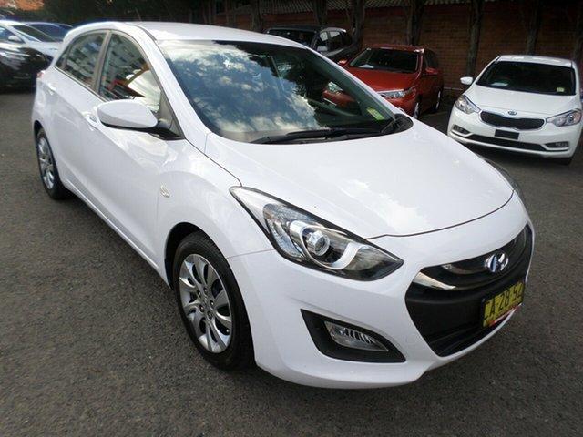Used Hyundai i30 GD2 Active, 2014 Hyundai i30 GD2 Active White 6 Speed Sports Automatic Hatchback