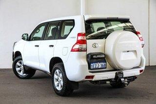 2016 Toyota Landcruiser Prado GDJ150R GX Glacier White 6 Speed Sports Automatic Wagon.