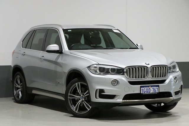Used BMW X5 F15 MY14 xDrive 30D, 2014 BMW X5 F15 MY14 xDrive 30D Silver 8 Speed Automatic Wagon