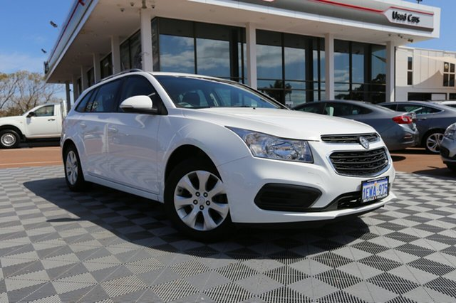 Used Holden Cruze JH Series II MY16 CD Sportwagon, 2015 Holden Cruze JH Series II MY16 CD Sportwagon Summit White 6 Speed Sports Automatic Wagon