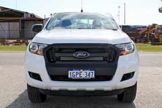 2017 Ford Ranger PX MkII MY18 XL Double Cab Frozen White 6 Speed Sports Automatic Utility.