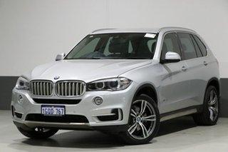 2014 BMW X5 F15 MY14 xDrive 30D Silver 8 Speed Automatic Wagon.