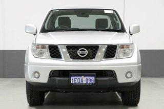 2014 Nissan Navara D40 MY13 RX (4x4) Silver 6 Speed Manual Dual Cab Pick-up.