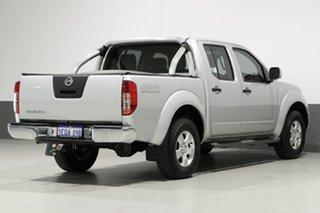 2014 Nissan Navara D40 MY13 RX (4x4) Silver 6 Speed Manual Dual Cab Pick-up
