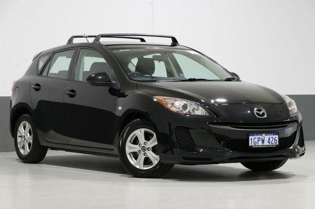 Used Mazda 3 BL MY13 Neo, 2013 Mazda 3 BL MY13 Neo Black 6 Speed Manual Hatchback