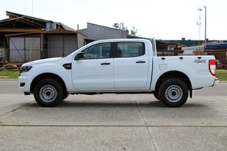 2017 Ford Ranger PX MkII MY18 XL Double Cab Frozen White 6 Speed Sports Automatic Utility