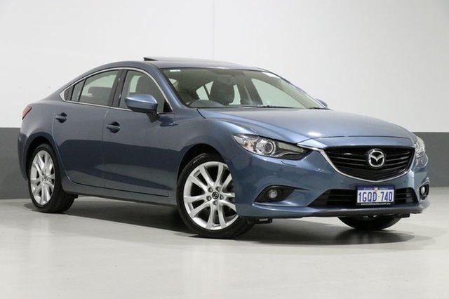 Used Mazda 6 6C MY14 Upgrade GT, 2014 Mazda 6 6C MY14 Upgrade GT Blue 6 Speed Automatic Sedan