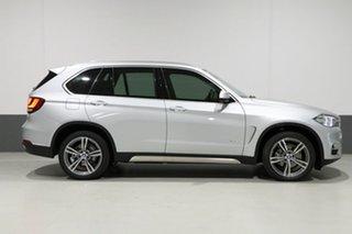 2014 BMW X5 F15 MY14 xDrive 30D Silver 8 Speed Automatic Wagon