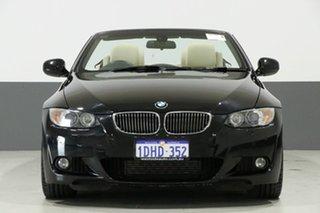 2010 BMW 335i E93 MY10 M Sport Black 7 Speed Auto Direct Shift Convertible.