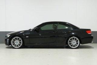 2010 BMW 335i E93 MY10 M Sport Black 7 Speed Auto Direct Shift Convertible