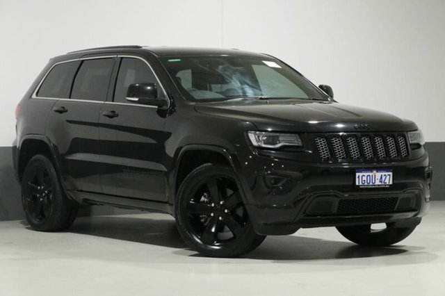 Used Jeep Grand Cherokee WK MY14 Blackhawk (4x4), 2014 Jeep Grand Cherokee WK MY14 Blackhawk (4x4) Black 8 Speed Automatic Wagon