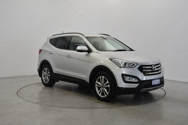 Used Hyundai Santa Fe DM3 MY16 Elite, 2015 Hyundai Santa Fe DM3 MY16 Elite Silver 6 Speed Sports Automatic Wagon
