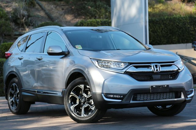 Demo Honda CR-V RW MY18 VTi-LX 4WD, 2018 Honda CR-V RW MY18 VTi-LX 4WD Lunar Silver 1 Speed Constant Variable SUV