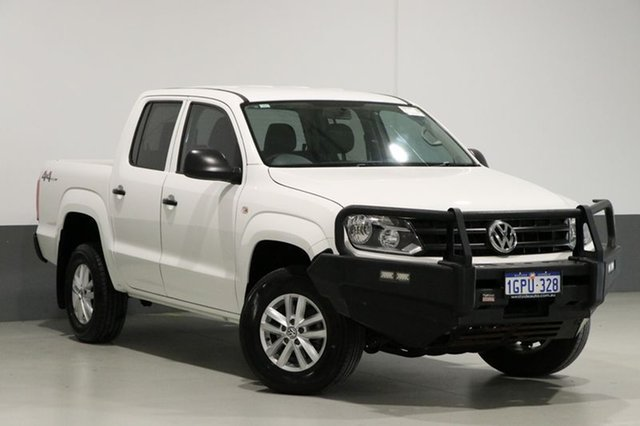 Used Volkswagen Amarok 2H MY16 TDI420 Core Edition (4x4), 2016 Volkswagen Amarok 2H MY16 TDI420 Core Edition (4x4) White 8 Speed Automatic Dual Cab Chassis