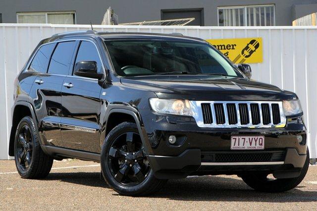 Used Jeep Grand Cherokee WK MY2013 Limited, 2012 Jeep Grand Cherokee WK MY2013 Limited Black 5 Speed Sports Automatic Wagon