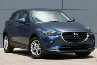 2018 Mazda CX-3 DK2W7A Neo SKYACTIV-Drive FWD Sport Eternal Blue 6 Speed Sports Automatic Wagon.