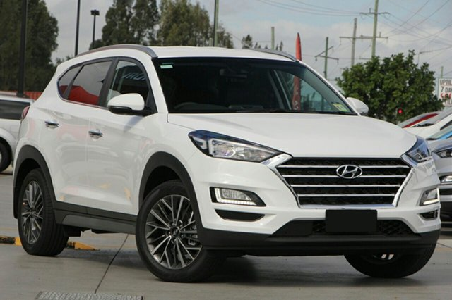 New Hyundai Tucson TL3 MY19 Elite AWD, 2018 Hyundai Tucson TL3 MY19 Elite AWD Pure White 8 Speed Sports Automatic Wagon