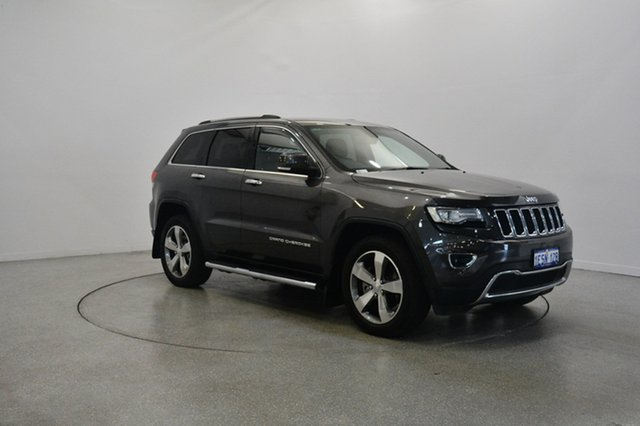 Used Jeep Grand Cherokee WK MY15 Limited, 2015 Jeep Grand Cherokee WK MY15 Limited Granite Crystal 8 Speed Sports Automatic Wagon