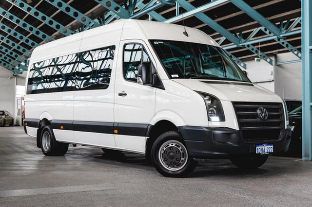 Used Volkswagen Crafter 2EF2 MY10 50 High Roof LWB, 2010 Volkswagen Crafter 2EF2 MY10 50 High Roof LWB White 6 Speed Sports Automatic Van
