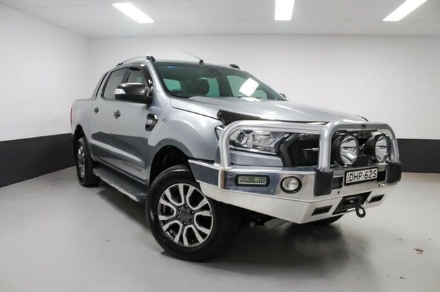 Used Ford Ranger PX MkII Wildtrak Double Cab, 2015 Ford Ranger PX MkII Wildtrak Double Cab Aluminium 6 Speed Sports Automatic Utility