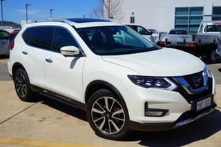 2018 Nissan X-Trail T32 Series II Ti X-tronic 4WD Snow Storm 7 Speed Constant Variable Wagon.