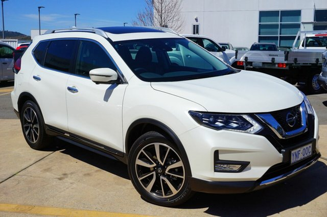 Demo Nissan X-Trail T32 Series II Ti X-tronic 4WD, 2018 Nissan X-Trail T32 Series II Ti X-tronic 4WD Snow Storm 7 Speed Constant Variable Wagon
