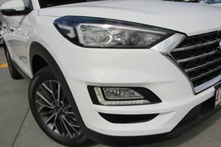 2018 Hyundai Tucson Elite Pure White 8 Speed Automatic SUV.
