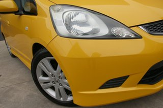 2010 Honda Jazz GE MY11 VTi-S Yellow 5 Speed Manual Hatchback.