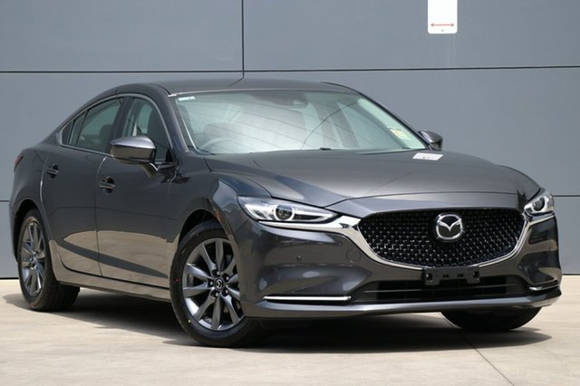 New Mazda 6 GL1032 Touring SKYACTIV-Drive, 2018 Mazda 6 GL1032 Touring SKYACTIV-Drive Machine Grey 6 Speed Sports Automatic Sedan