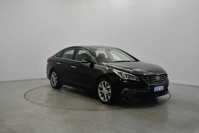 Used Hyundai Sonata LF Premium, 2014 Hyundai Sonata LF Premium Black 6 Speed Sports Automatic Sedan