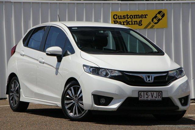 Used Honda Jazz GF MY15 VTi-S, 2015 Honda Jazz GF MY15 VTi-S White 1 Speed Constant Variable Hatchback