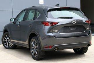 2017 Mazda CX-5 KF4WLA Akera SKYACTIV-Drive i-ACTIV AWD Machine Grey 6 Speed Sports Automatic Wagon.