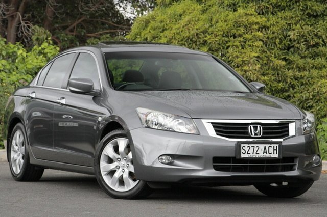 Used Honda Accord 8th Gen VTi-L, 2009 Honda Accord 8th Gen VTi-L Polished Metal 5 Speed Sports Automatic Sedan