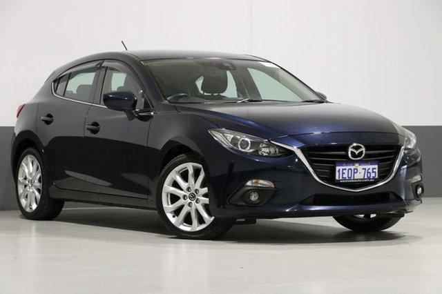 Used Mazda 3 BM SP25, 2014 Mazda 3 BM SP25 Blue 6 Speed Manual Hatchback