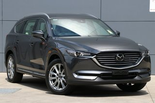 2018 Mazda CX-8 KG4W2A Asaki SKYACTIV-Drive i-ACTIV AWD Machine Grey 6 Speed Sports Automatic Wagon.