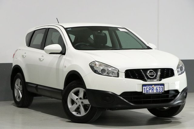 Used Nissan Dualis J10 Series II ST (4x2), 2012 Nissan Dualis J10 Series II ST (4x2) White 6 Speed CVT Auto Sequential Wagon