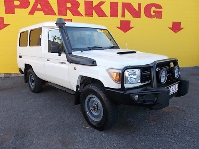 Used Toyota Landcruiser VDJ78R Workmate Troopcarrier, 2009 Toyota Landcruiser VDJ78R Workmate Troopcarrier White 5 Speed Manual Wagon