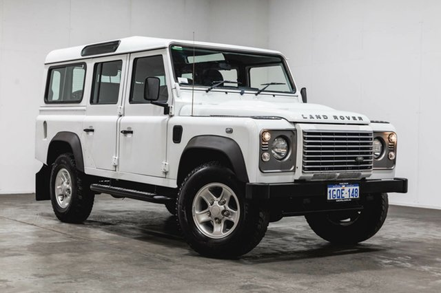 Used Land Rover Defender 110 12MY , 2012 Land Rover Defender 110 12MY Fuji White 6 Speed Manual Wagon