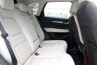 2017 Mazda CX-5 KF4WLA Akera SKYACTIV-Drive i-ACTIV AWD Machine Grey 6 Speed Sports Automatic Wagon