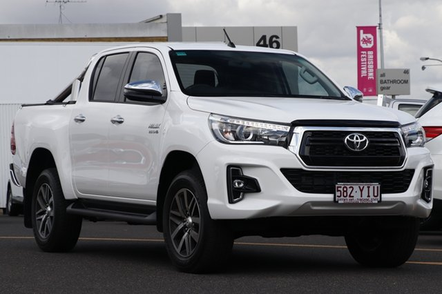 Demo Toyota Hilux GUN126R SR5 Double Cab, 2018 Toyota Hilux GUN126R SR5 Double Cab Glacier White 6 Speed Sports Automatic Utility